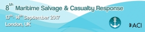 8th Maritime Salvage & Casualty Response, 13th – 14th September 2017, London, UK