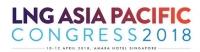 LNG Asia Pacific Congress 2018 | 10 - 12 April 2018 | Amara Hotel Singapore